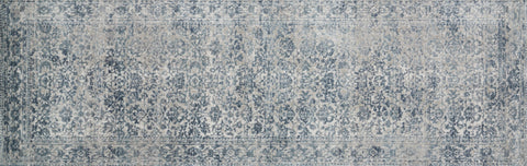 Patina Rug in Sky & Stone by Loloi