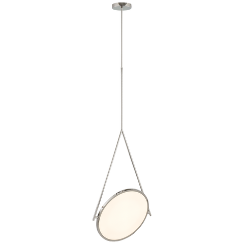 "Dot Stance 13"" Rotating Pendant by Peter Bristol"