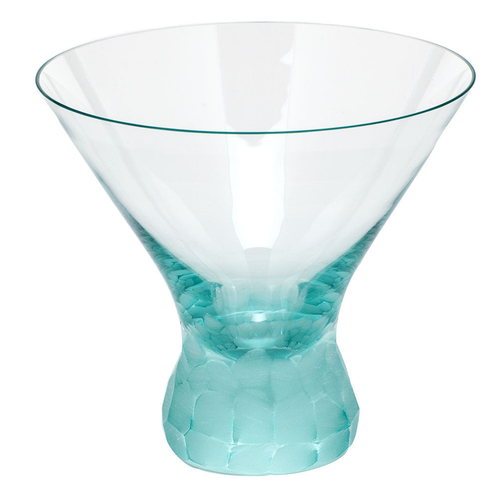 Pebbles Martini Glass in Various Colors design by Moser ...