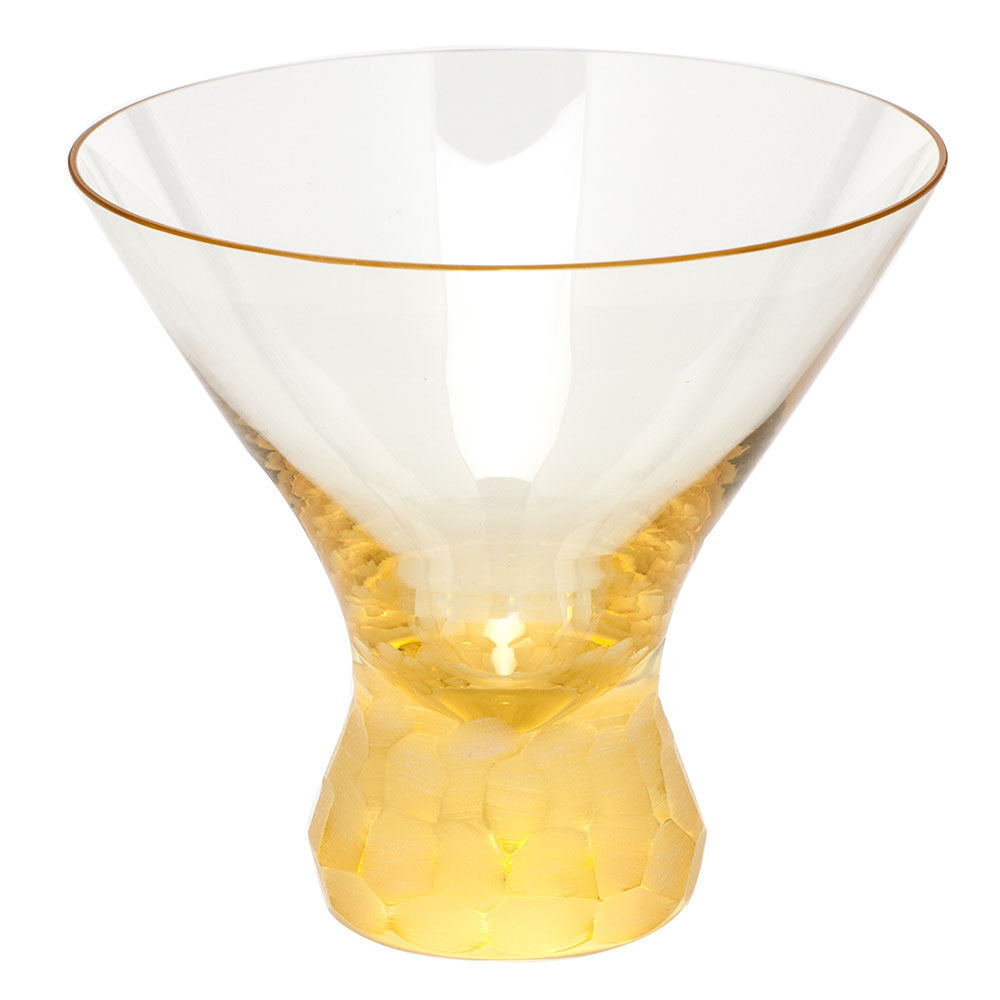 Pebbles Martini Glass in Various Colors design by Moser – BURKE DECOR