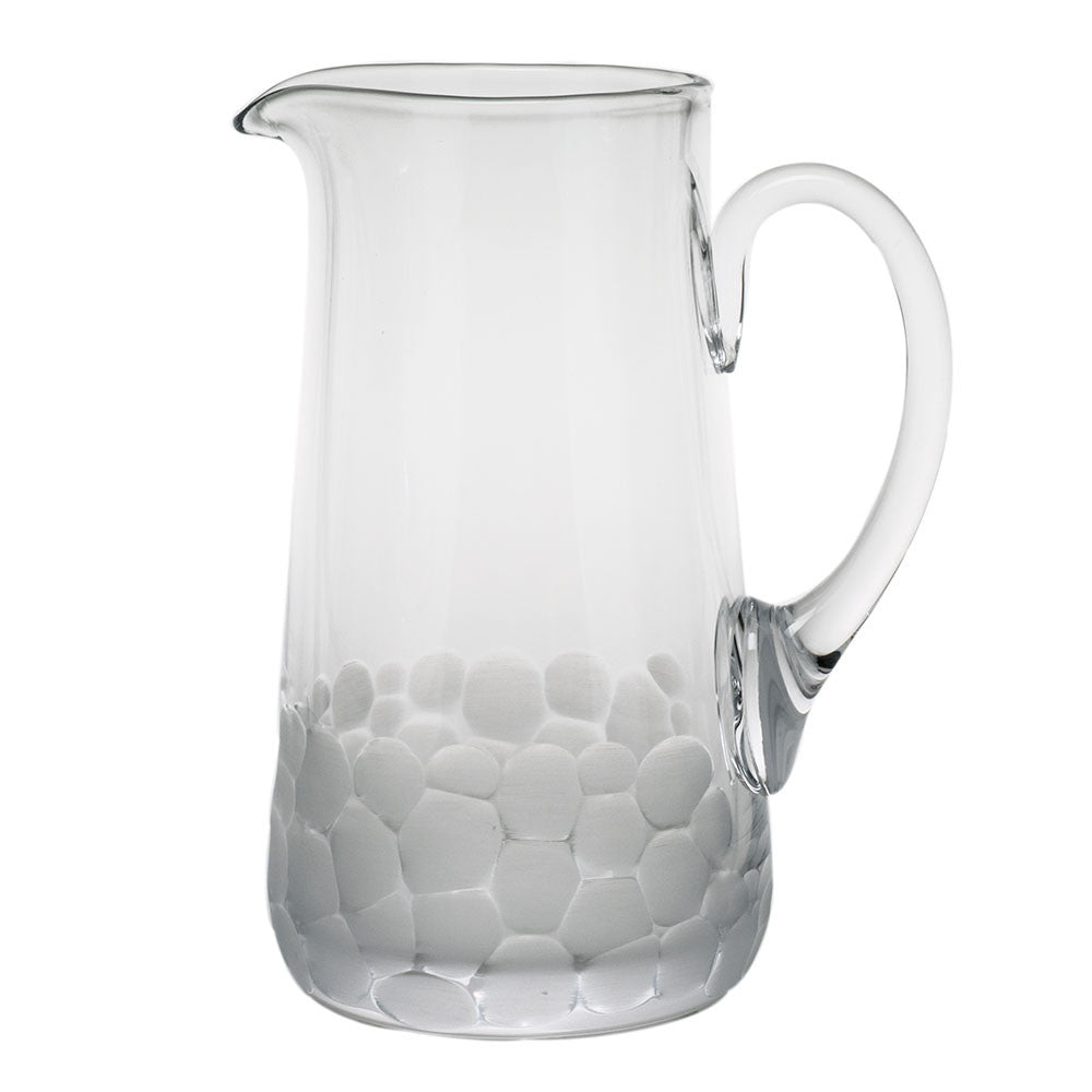 Pebbles Pitcher design by Moser