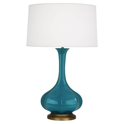 Pike Table Lamp in Assorted Colors design by Robert Abbey