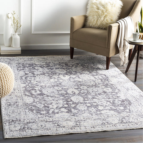 Presidential PDT-2313 Rug in Medium Grey & Ivory by Surya