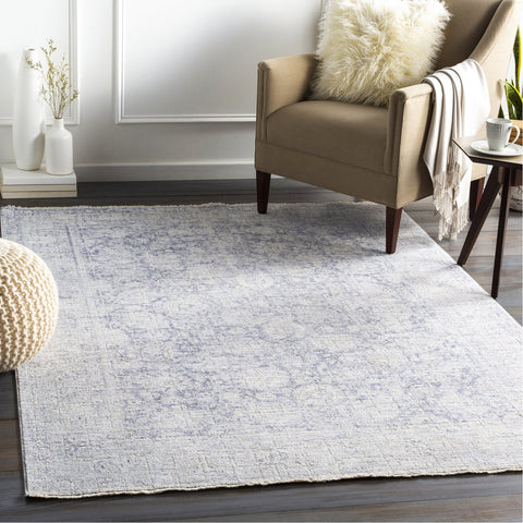 Presidential PDT-2317 Rug in Pale Blue & Medium Grey by Surya