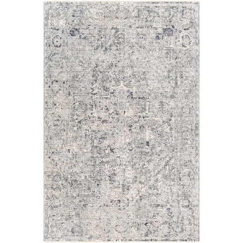 Presidential PDT-2321 Rug in Medium Gray & Ivory by Surya