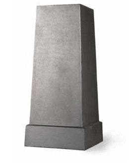 Faux Lead Square Pedestal design by Capital Garden Products