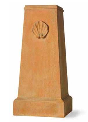 Terracotta Shell Replica Pedestal design by Capital Garden Products