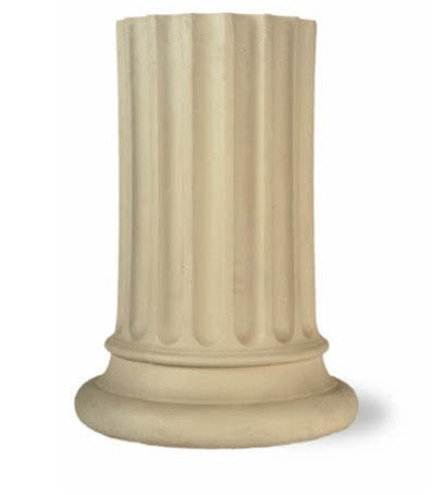 Stone Doric Replica Pedestal design by Capital Garden Products