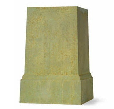 Bronzage Square Pedestal design by Capital Garden Products