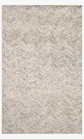 Peregrine Rug in Light Grey by Loloi