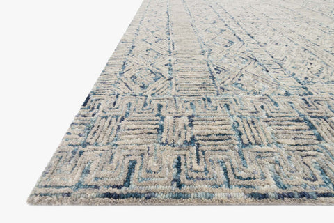 Peregrine Rug in Ocean by Loloi