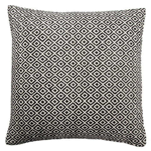 Estes Pillow in Gardenia & Pewter design by Jaipur Living