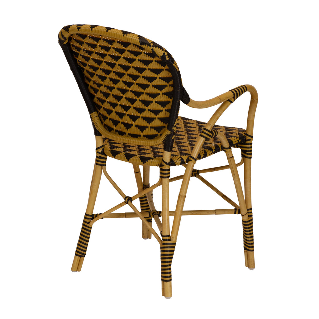 Pinnacle Arm Chair - Natural/Black by Selamat