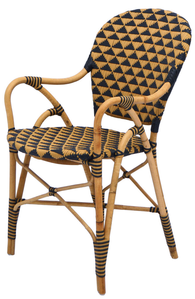Pinnacle Arm Chair - Natural/Black