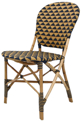 Pinnacles Side Chair - Natural/Black