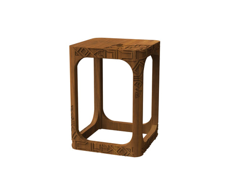 Pinnacles Side Table