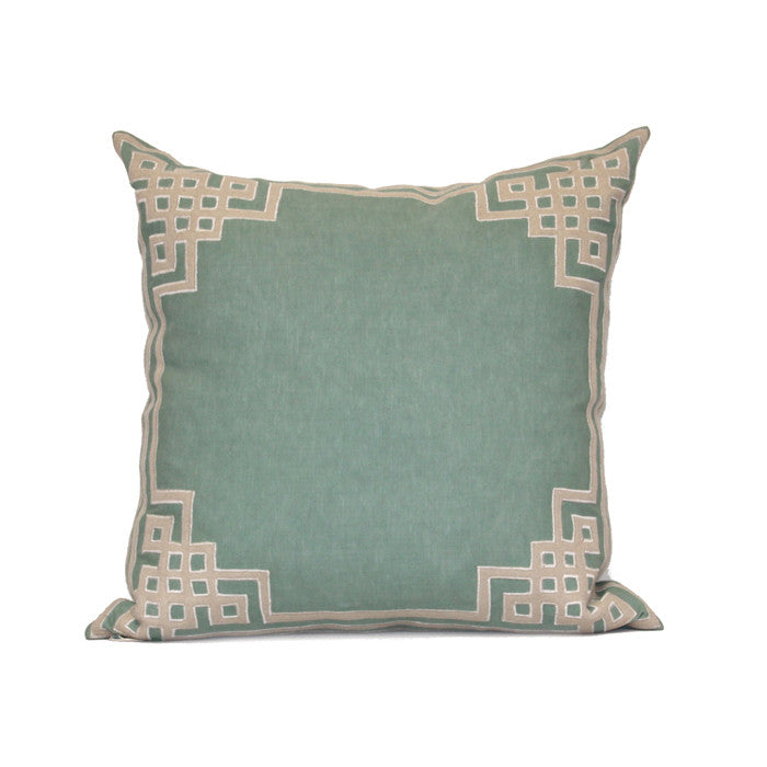 "Ming Lattice 24"" Pillow in Various Colors design by Bliss Studio"