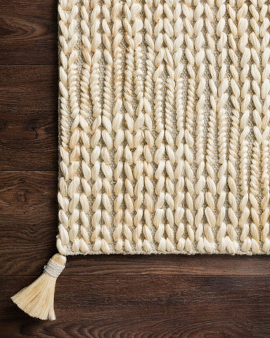 Playa Rug in Light Grey / Ivory by Justina Blakeney x Loloi