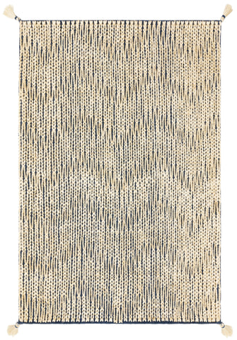 Playa Rug in Navy / Ivory by Justina Blakeney x Loloi