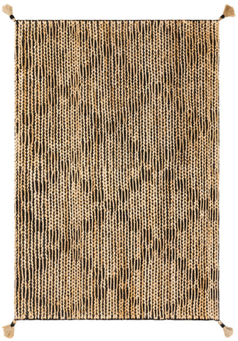 Playa Rug in Black / Natural by Justina Blakeney x Loloi