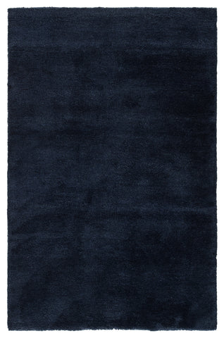 Serra Hand-Knotted Solid Blue Rug by Jaipur Living