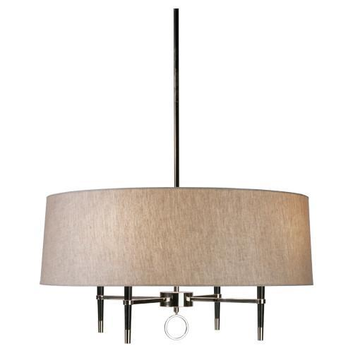 Jonathan Adler Collection Single Tier Chandelier design by Robert Abbey