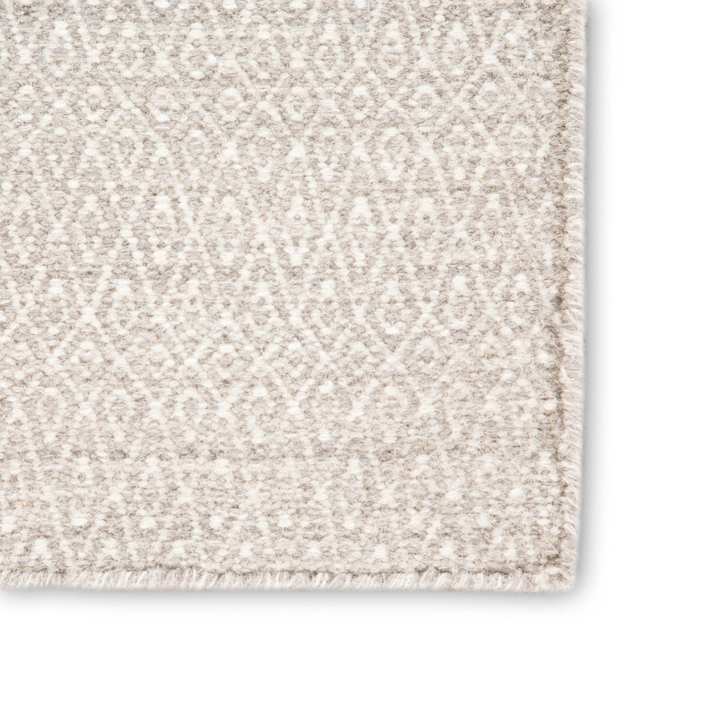 Eulalia Geometric Rug in Goat & Light Gray design by Jaipur Living