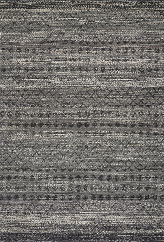 Pomona Rug in Graphite by ED Ellen DeGeneres Crafted by Loloi