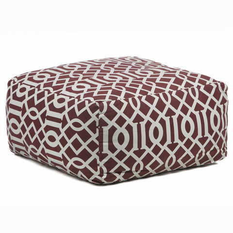 Poufs chandra rugs make a statement with chandra rugs burke decor - Pouf marron conforama ...