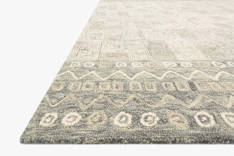 Priti Rug in Pewter & Natural by Loloi