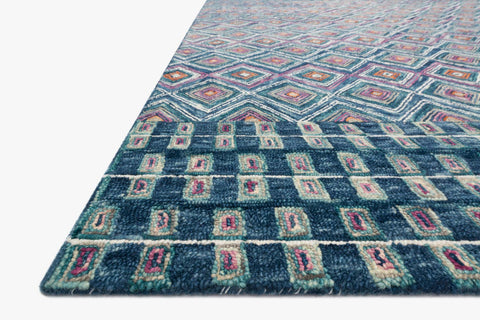 Priti Rug in Denim & Berry by Loloi