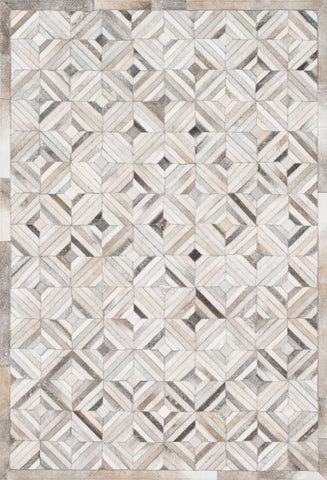 Promenade Rug in Ivory & Grey by Loloi
