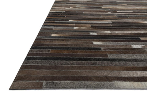 Promenade Rug in Charcoal by Loloi