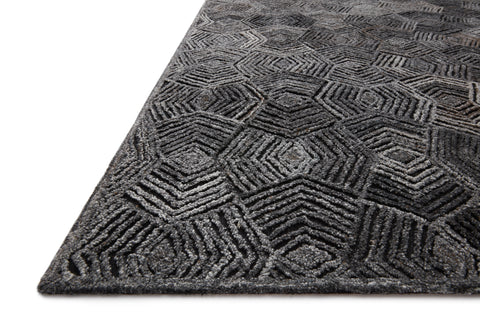Prescott Rug in Charcoal by Loloi