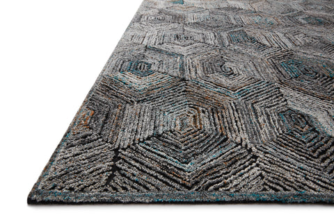 Prescott Rug in Metal by Loloi
