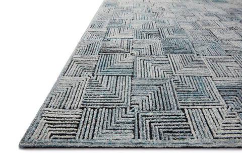 Prescott Rug in Arctic Blue by Loloi