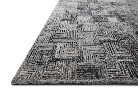 Prescott Rug in Silver by Loloi