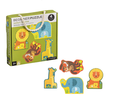 Safari Babies Beginner Puzzle by Petit Collage