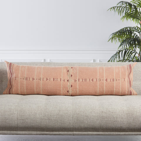 Amezri Tribal Pillow in Blush by Jaipur Living