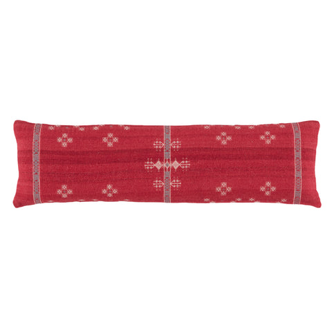 Katara Tribal Pillow in Red & Gray by Jaipur Living