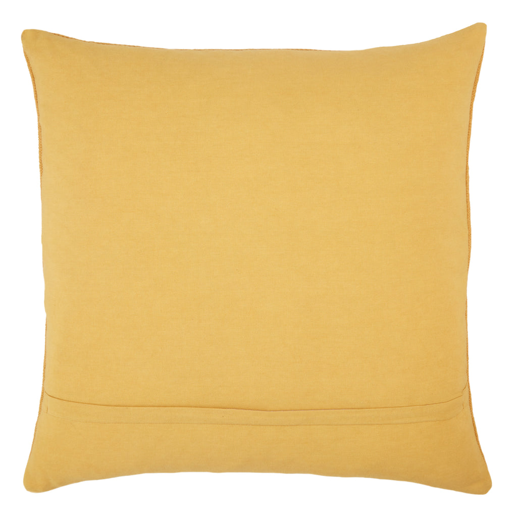 Nufisa Tribal Pillow in Yellow by Jaipur Living