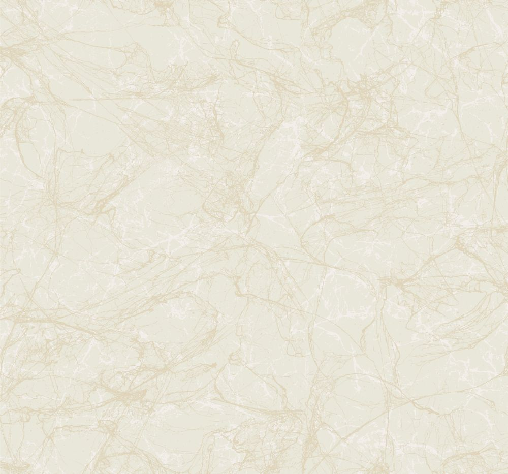 Sample Paint Splatter Wallpaper in Gold and Ivory from the Casa Blanca II Collection by Seabrook Wallcoverings
