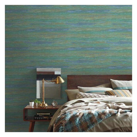Painterly Wallpaper from the Urban Oasis Collection by York Wallcoverings