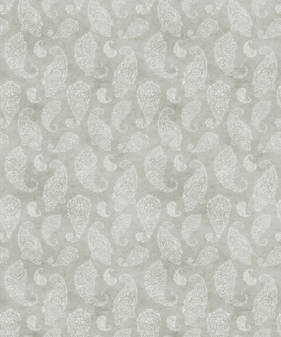 Paisley Wallpaper in Beige by Bethany Linz for Milton & King