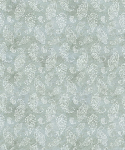Paisley Wallpaper in Sea Spray by Bethany Linz for Milton & King
