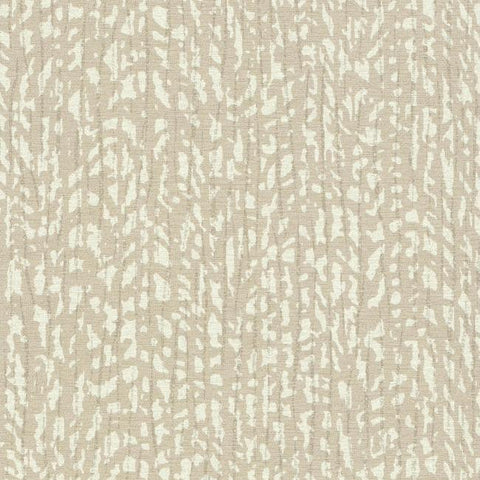 Palm Grove Wallpaper in Beige and Ivory from the Terrain Collection by Candice Olson for York Wallcoverings