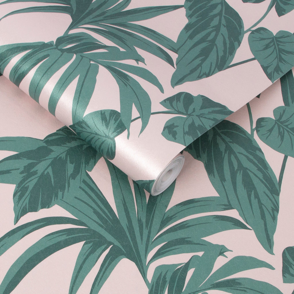 Palma Wallpaper in Blush from the Exclusives Collection by Graham & Brown