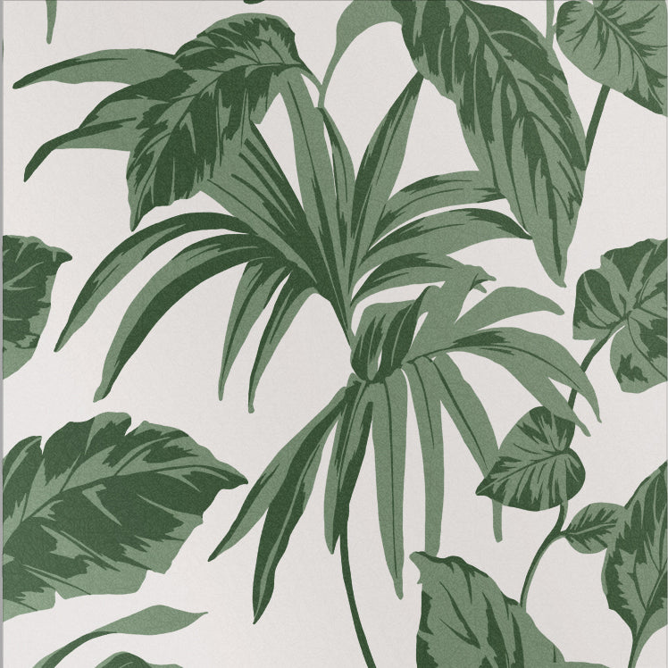 Sample Palma Wallpaper in Chalk from the Exclusives Collection by Graham & Brown