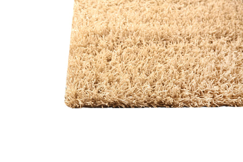 Palo Collection Hand Woven Polyester Area Rug in Vanilla design by Mat the Basics