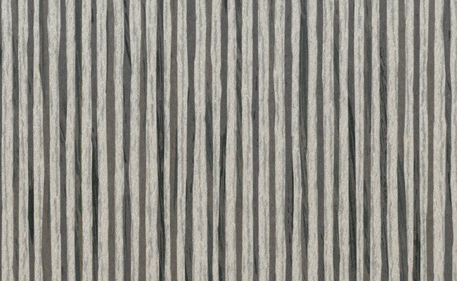 Sample Paper String Wallpaper in Brown and Silver design by Seabrook Wallcoverings